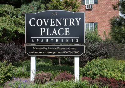 Coventry Place Exterior Sign