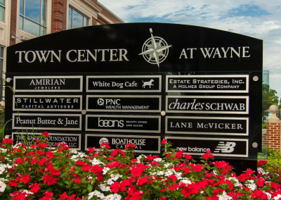 Town Center at Wayne Exterior Sign