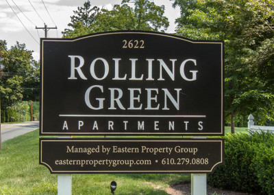 Rolling Green Exterior Sign