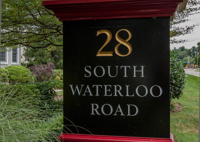 Waterloo Exterior Sign